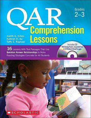 Qar Comprehension Lessons Grades 2-3 By Raphael, Taffy/ Au, Kathryn