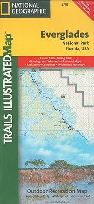 National Geographic Trails Illustrated Map Everglades National Park